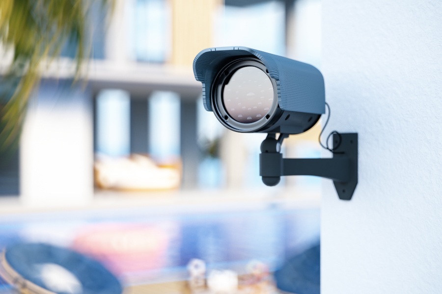 CCTV, thermal imaging and distance monitoring
